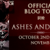 Ashes and Wine Blog Tour and Giveaway