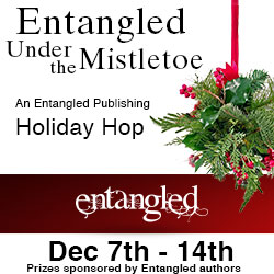 Entangled Under the Mistletoe Holiday Hop and Twitter Party!