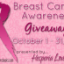 Entangled Teen is proud to support the Breast Cancer Awareness Giveaway!