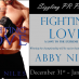 Fighting Love tour and giveaway