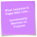 Accidentally Married on Purpose Mad Libs