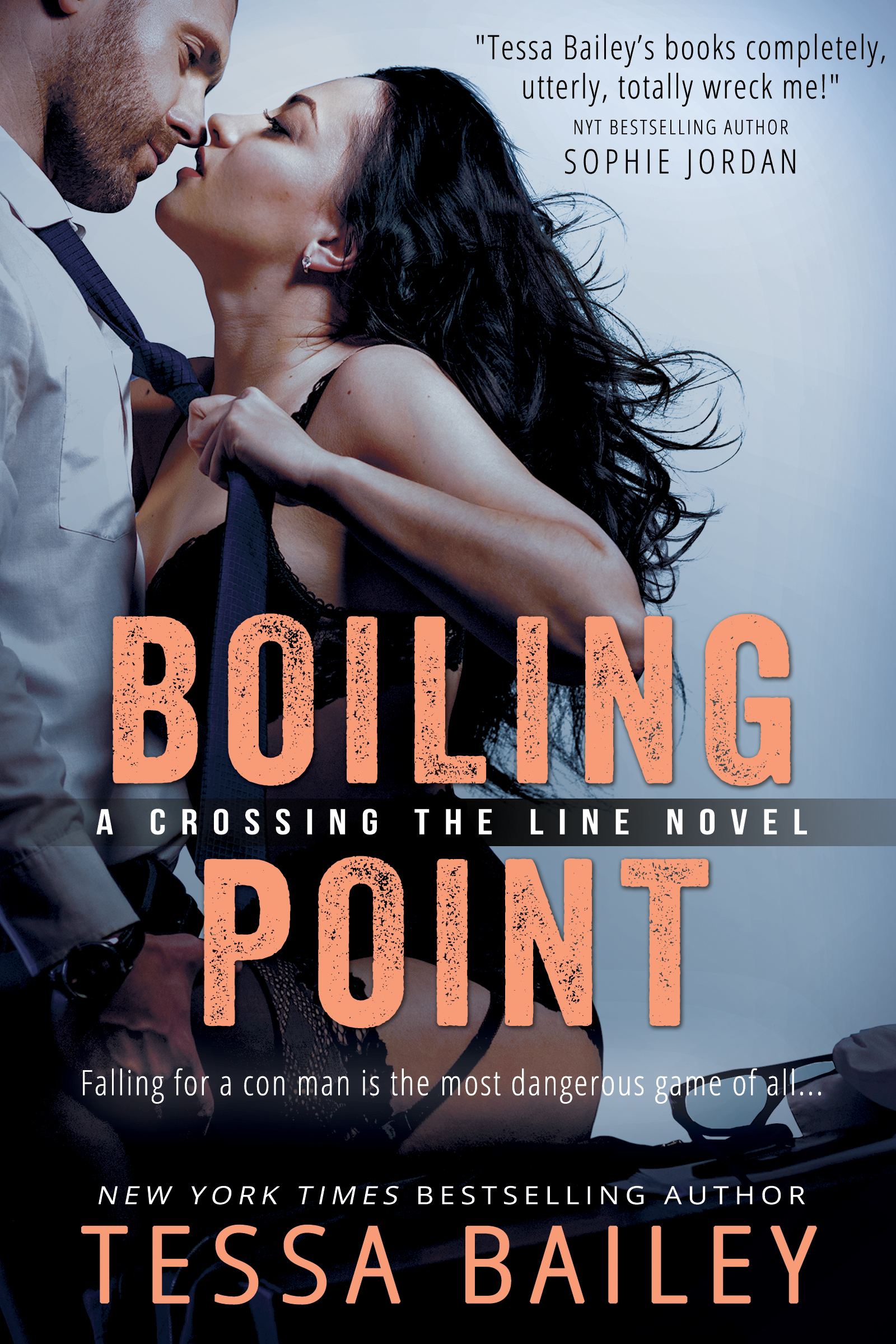 Cover Reveal – Boiling Point by Tessa Bailey