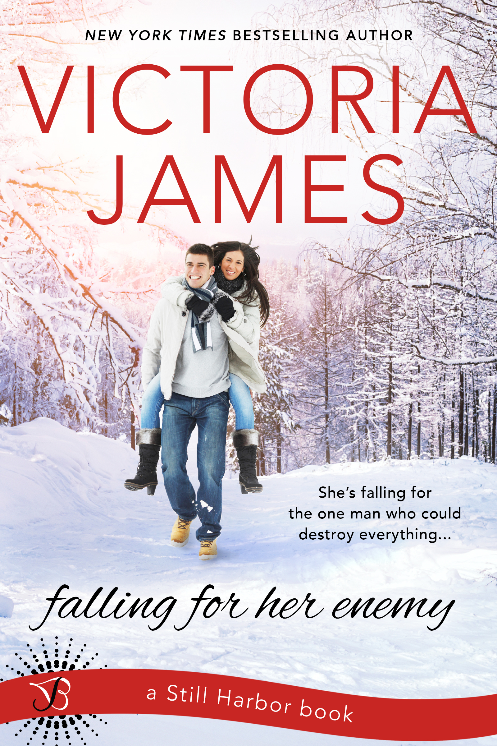Cover Reveal – Falling For Her Enemy by Victoria James