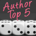 #AuthorTop5 with Arianna Hart